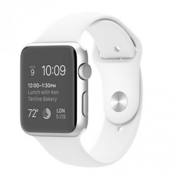Фотография  Apple Watch Series 1 42mm Silver Aluminum with White Sport Band